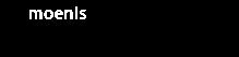 Logo for Moenis Valet Parking